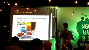 Food enthusiast Ngobrol Blogger Semarang Sakuku BCA
