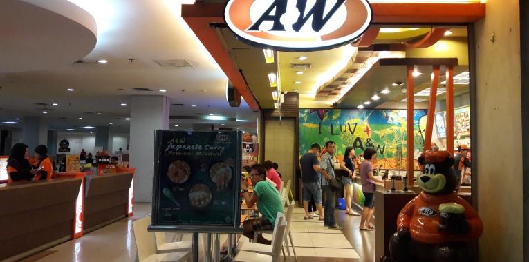 A&W Restoran Japanese Curry Premium Mixbowls