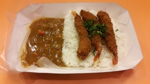 Japanese Curry Prawn Premium Mixbowl