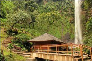 curug cimahi waterfall,